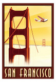 San Francisco Poster von Steve Forney
