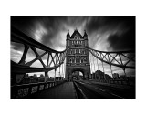 London Tower Bridge Art by Marcin Stawiarz