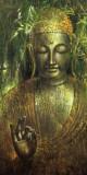 Wei Ying-wu - Buddha in Green l Umění