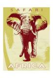 Safari Africa Plakater af Kem Mcnair