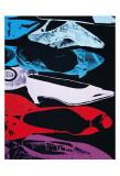 Andy Warhol - Diamond Dust Shoes, c.1980-81 (Parallel) Umělecké plakáty