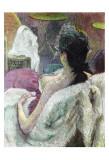 Resting Model Lámina por Henri de Toulouse-Lautrec