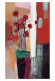 Flowers at Home Posters af Nancy Ortenstone