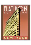 Edificio Flatiron Obra de arte por Brian James
