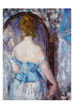 Before the Mirror Posters par Édouard Manet