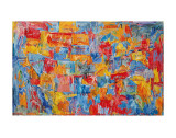 Map Prints by Jasper Johns