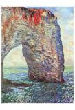 The Manneporte near Etretat, c.1886 Plakater af Claude Monet