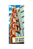 Tower Theater Print by Anthony Ross