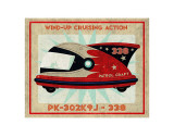 Patrol Craft 338, Box Art Tin Toy Posters by John Golden