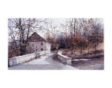 The Mill Bridge Prints by Ray Hendershot