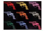 Andy Warhol - Gun, c.1982 Obrazy