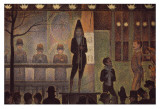 Circus Sideshow Posters by Georges Seurat
