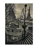 Paris Kunstdruck von Sabri Irmak