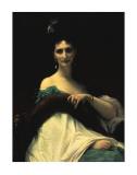 Portrait of Countess de Keller (Marquise de Saint Yves d'Alveydre), c.1873 Posters by Alexandre Cabanel