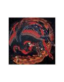 Phoenix (detail) Posters by Katsushika Hokusai
