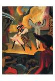 Russian Ballet Prints by Auguste Macke