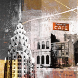 Fanelli Cafe Print by Gery Luger