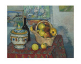Still Life with Soup Toureen, c.1877 Poster by Paul Cézanne