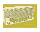 Lunastrella Radio Posters by John Golden