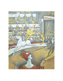 The Circus Posters por Georges Seurat