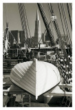 Lifeboat and San Francisco Skyline Prints by Christian Peacock