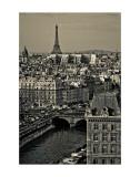 Paris Rooftops Posters par Sabri Irmak