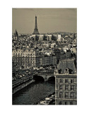 Paris Rooftops Prints by Sabri Irmak