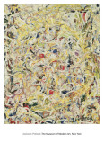 Shimmering Substance, c.1946 Posters van Jackson Pollock