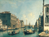 The Grand Canal, Venice Art by  Canaletto