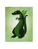 Green Dragon Poster by John Golden