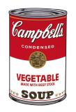 Campbell's Soup I: Vegetable, c.1968 Kunst af Andy Warhol