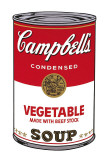 Campbell's Soup I: Vegetable, c.1968 Arte por Andy Warhol