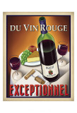 Du Vin Rouge Exceptionnel Prints by Steve Forney
