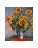 Vase mit Sonnenblumen Kunstdrucke von Claude Monet