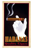 Habanas Quality Cigars Art par Steve Forney