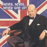 Tapre briter II Plakat af The Vintage Collection