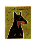 Doberman Prints by John Golden