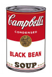 Campbell's Soup I: Black Bean, c.1968 Psters por Andy Warhol