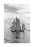 Sailing Off Poster van Ben Wood