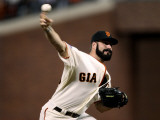 Texas Rangers v San Francisco Giants, Game 1: Brian Wilson Photographic Print by Ezra Shaw