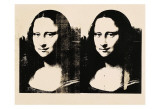 Double Mona Lisa, 1963 Prints by Andy Warhol