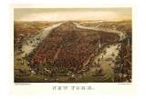 New York, c.1873 Lámina