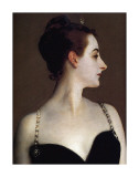 Madame X (detail) Posters by John Singer Sargent