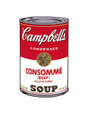 Campbell&#39;s Soup I: Consomme, c.1968 Posters par Andy Warhol