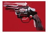 Waffen, ca.1981–1982 Kunstdrucke von Andy Warhol
