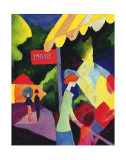 Fashion Store Window Poster by August Macke