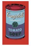 Campbell&#39;s Soup Can, 1965 (Blue and Purple) Posters par Andy Warhol