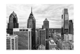 Philly Skyline Affiche par Erin Clark