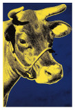 Cow, c.1971 (Blue and Yellow) Lminas por Andy Warhol