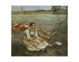 Hay Harvest, c.1877 Posters by Jules Bastien-Lepage